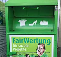 FairWertung Altkleidersammlung